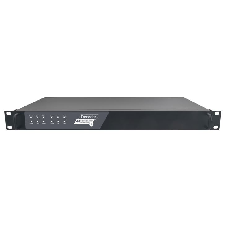 4 Channel H265 4K HDMI SDI VGA CVBS Video Decoder